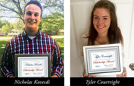 2016 Taleris Scholarship Winners
