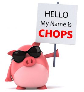 My name is Chops