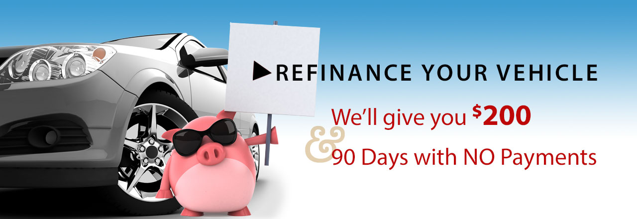 Refinance with us now and get $200