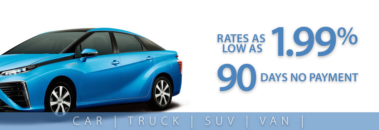 Auto Loan with No Payments for 90 Days