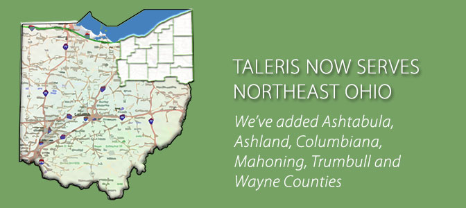 Taleris now serves all of Northeast Ohio