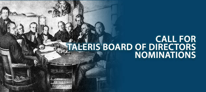 Call for Taleris Board of Directors nominations