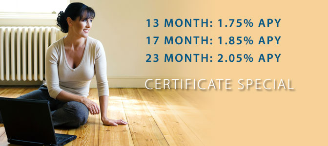 Limited Time Term Share Certificate Special