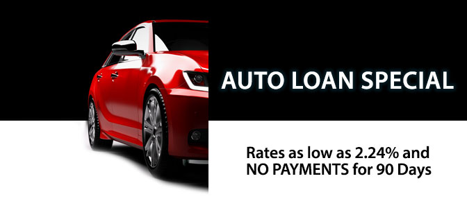 Auto Loans as low as 2.24%
