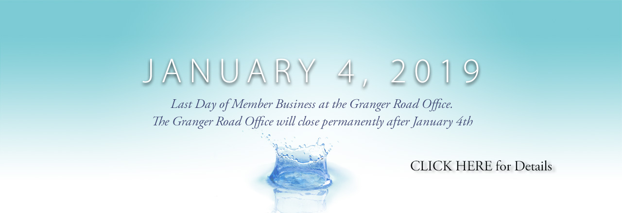 Granger Road Office closes after January 4
