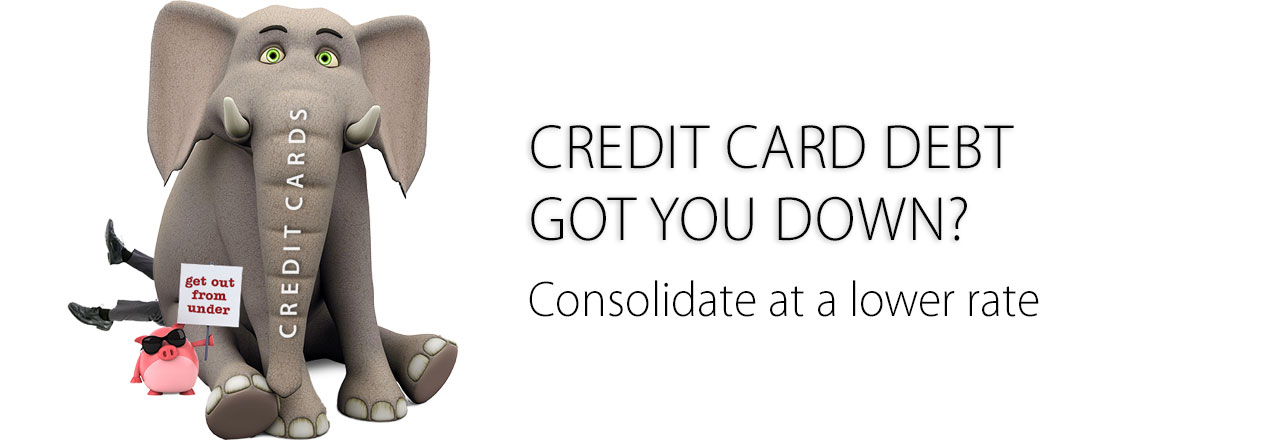 Lower your rate with a consolidation loan