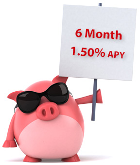 6 Month Term Share Certificate at 1.50% APY