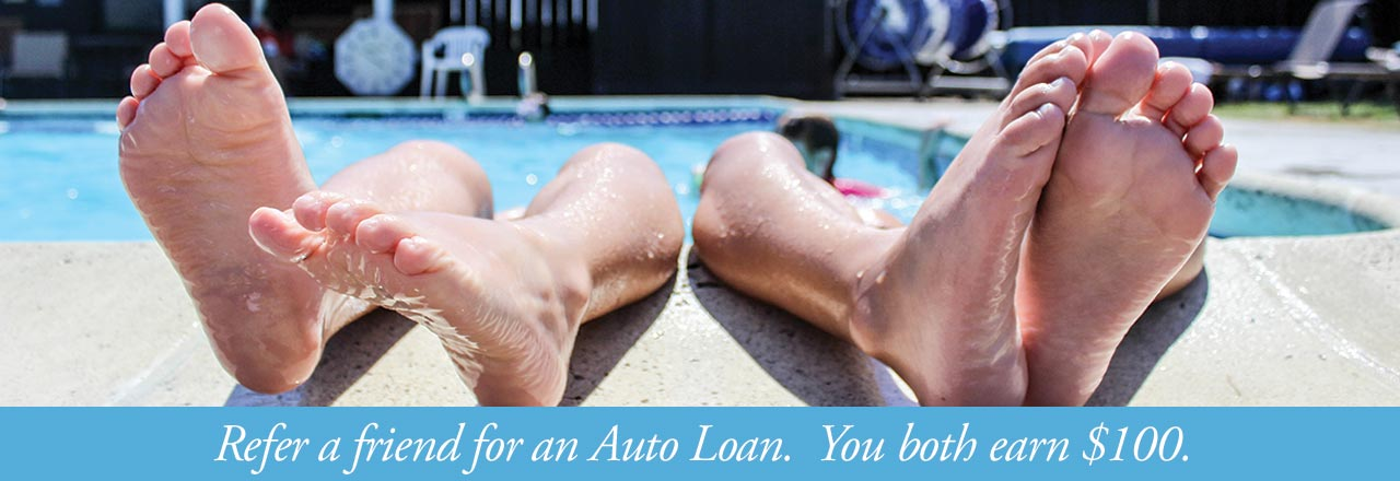 Refer a friend for an auto loan and you both earn $100